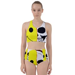 Skull Behind Your Smile Bikini Swimsuit Spa Swimsuit  by BangZart