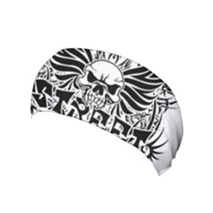 Tattoo Tribal Street Art Yoga Headband by Valentinaart
