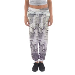 White Technology Circuit Board Electronic Computer Women s Jogger Sweatpants