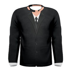Bodyguard Black Suit With Tie Men s Long Sleeve Tee by daydreamer
