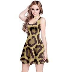 Leopard Reversible Sleeveless Dress by BangZart