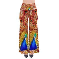Fractal Peacock Art Pants by BangZart