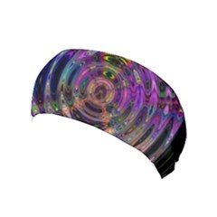 Color In The Round Yoga Headband by BangZart