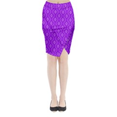 Decorative Seamless Pattern  Midi Wrap Pencil Skirt