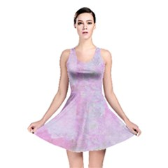 Pink Texture                           Reversible Skater Dress by LalyLauraFLM