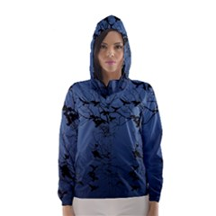 Crow Flock  Hooded Wind Breaker (women) by Valentinaart