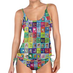 Exquisite Icons Collection Vector Tankini Set by BangZart