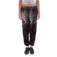 Fractalius Abstract Forests Fractal Fractals Women s Jogger Sweatpants by BangZart