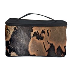 Grunge Map Of Earth Cosmetic Storage Case by BangZart