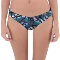 Old Spiderwebs On An Abstract Glass Reversible Hipster Bikini Bottoms by BangZart