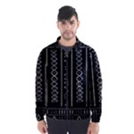Black and White Tribal Wind Breaker (Men)