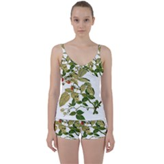 Berries Berry Food Fruit Herbal Tie Front Two Piece Tankini by Nexatart