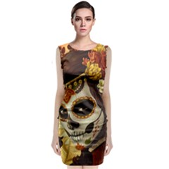 Fantasy Girl Art Classic Sleeveless Midi Dress by BangZart
