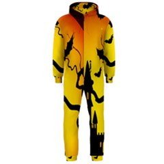 Halloween Night Terrors Hooded Jumpsuit (men)  by BangZart