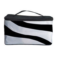 White Tiger Skin Cosmetic Storage Case by BangZart