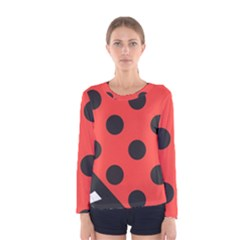Abstract Bug Cubism Flat Insect Women s Long Sleeve Tee by BangZart