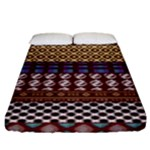 African Pattern Mix 2 Fitted Sheet (King Size)
