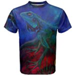 Collection: Firewater<br>Print Design:  Frequency <br>Style: Men s Cotton T