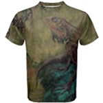 Collection: Firewater<br>Print Design:  Frequency - Vintage <br>Style: Men s Cotton T