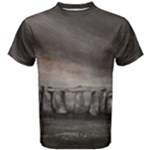 Collection: Art Earth Elements<Br>Print Design: Stonehenge<Br>Style: Men s T