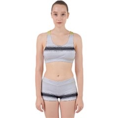 Ombre Work It Out Sports Bra Set by ValentinaDesign