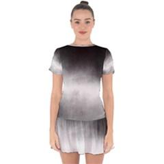 Ombre Drop Hem Mini Chiffon Dress by ValentinaDesign