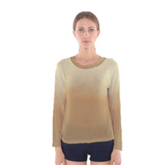 Ombre Women s Long Sleeve Tee by ValentinaDesign