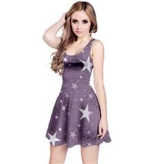 Star Texture Patterns  Reversible Sleeveless Dress by amphoto