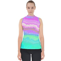Ombre Shell Top by ValentinaDesign