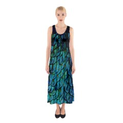 Mermaid Sleeveless Maxi Dress by greenthanet