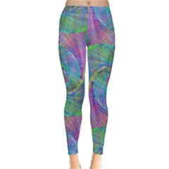Spiral Pattern Swirl Pattern Leggings