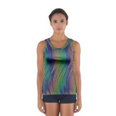 Texture Abstract Background Sport Tank Top