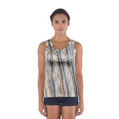 Texture Structure Marble Surface Background Sport Tank Top