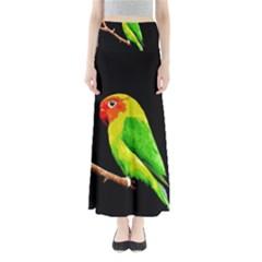 Parrot  Full Length Maxi Skirt by Valentinaart
