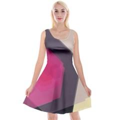 Allen Form Light  Reversible Velvet Sleeveless Dress by amphoto