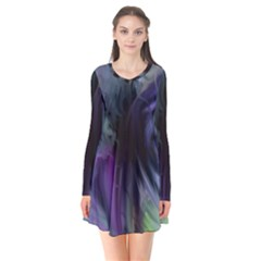 Brush Paint Light  Flare Dress by amphoto