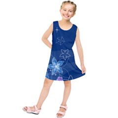 Abstraction Pattern Color  Kids  Tunic Dress by amphoto
