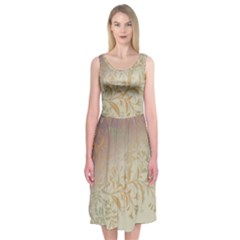2349 Pattern Background Faded 3840x2400 Midi Sleeveless Dress by amphoto