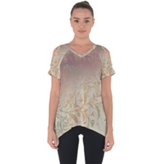 2349 Pattern Background Faded 3840x2400 Cut Out Side Drop Tee by amphoto