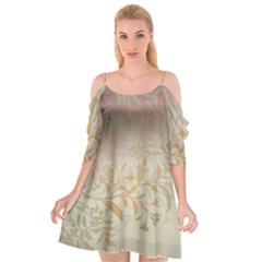 2349 Pattern Background Faded 3840x2400 Cutout Spaghetti Strap Chiffon Dress by amphoto