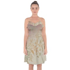 2349 Pattern Background Faded 3840x2400 Ruffle Detail Chiffon Dress by amphoto