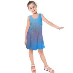 2317 Points Lines Background 3840x2400 Kids  Sleeveless Dress by amphoto