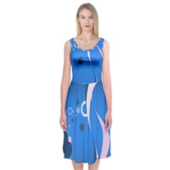 2323 Figures Shapes Circles 3840x2400 Midi Sleeveless Dress by amphoto