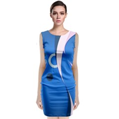 2323 Figures Shapes Circles 3840x2400 Classic Sleeveless Midi Dress by amphoto