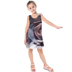 2272 Paper Paint Lines 3840x2400 Kids  Sleeveless Dress by amphoto