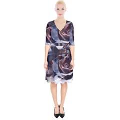 2272 Paper Paint Lines 3840x2400 Wrap Up Cocktail Dress by amphoto