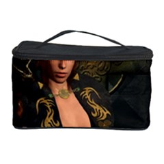 The Dark Side, Women With Skulls In The Night Cosmetic Storage Case by FantasyWorld7