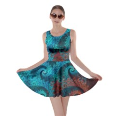 Abstract Patterns Spiral  Skater Dress by amphoto