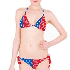 Usa Flag Bikini Set