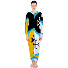 Assianism Symbol Onepiece Jumpsuit (ladies)  by abbeyz71
